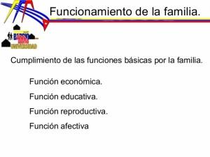 Funciones educativas de la familia pdf