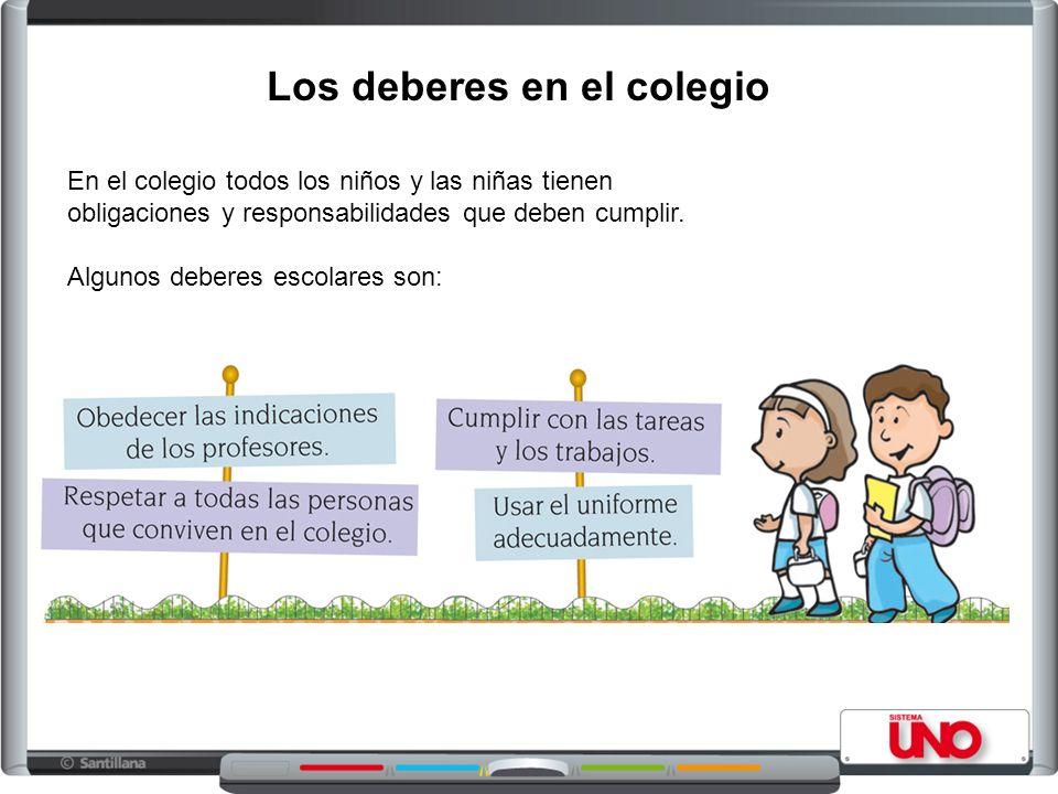 Los deberes de los niños en la familia y el colegio ...