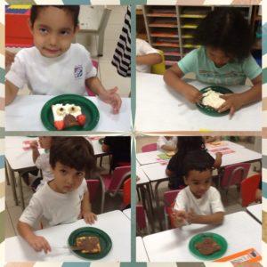Preparamos tostadas con forma de animales!